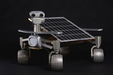 The moon rover called Asimov represents one of many competitors vying for the $30 million Google Lunar X Prize.