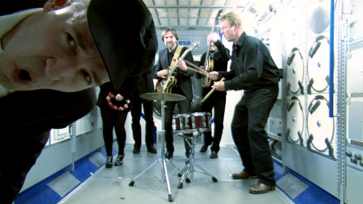 Space Rocks! Beatles Tribute Band Records Music Video for Station Astronauts