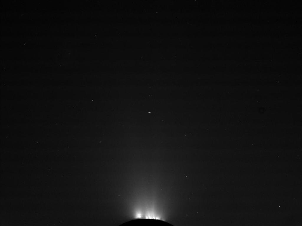 Enceladus Plume