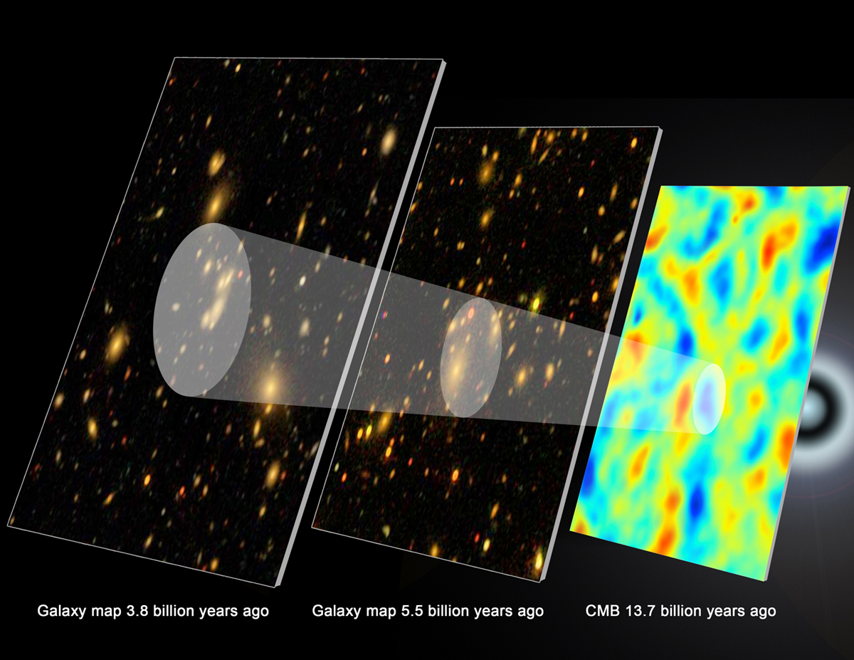 New Map of Distant Galaxies May Reveal Dark Energy History