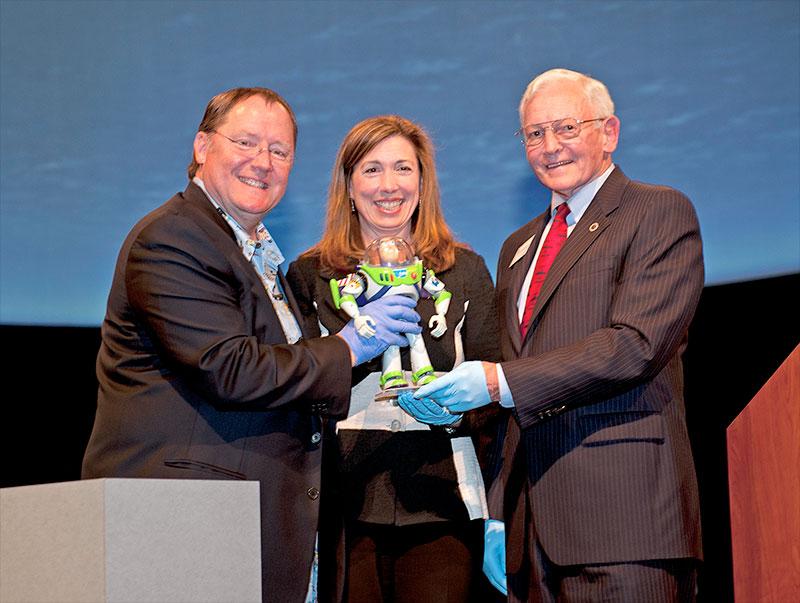 Disney Donates Space-Flown Buzz Lightyear Toy to Smithsonian