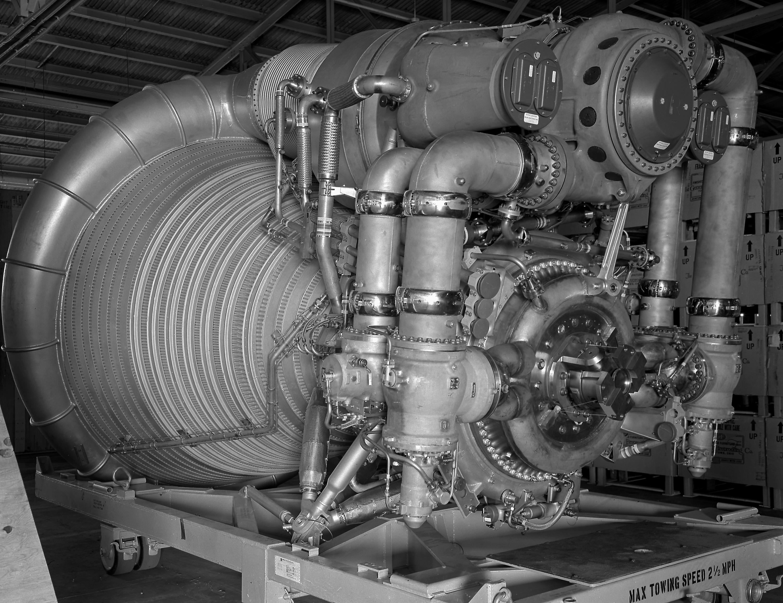 Saturn V Moon Rocket Engine: The F-1