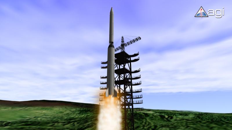 North Korea's Unha-2 Rocket Launches in 2009