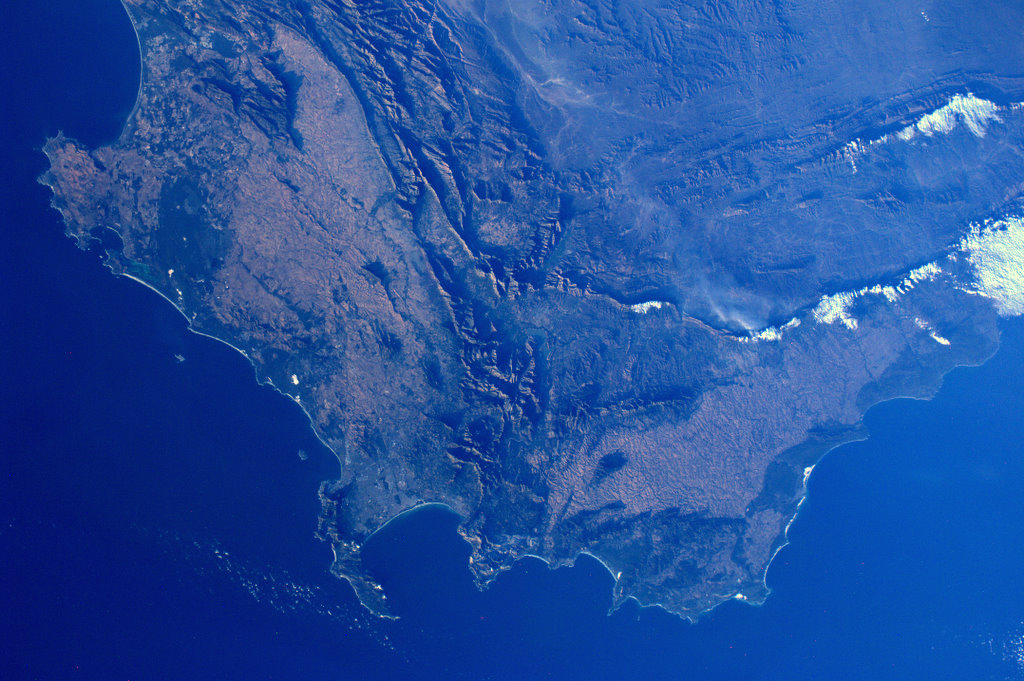 Cape of Good Hope from Space