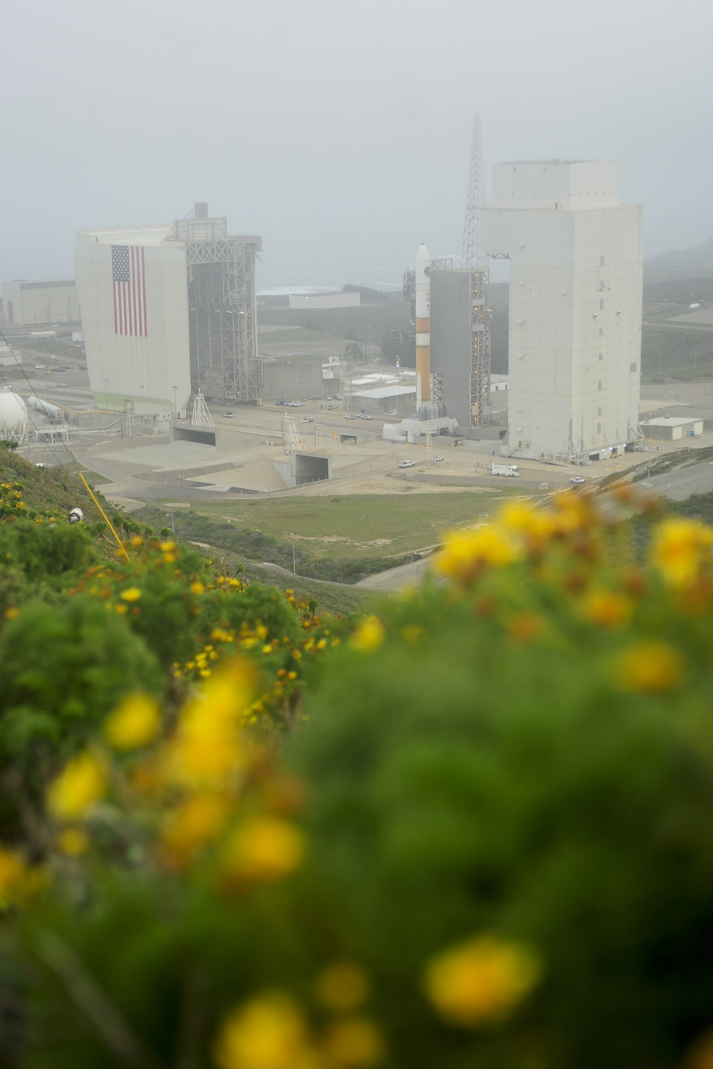 Spy Satellite and Flowers: NROL-25 Launch