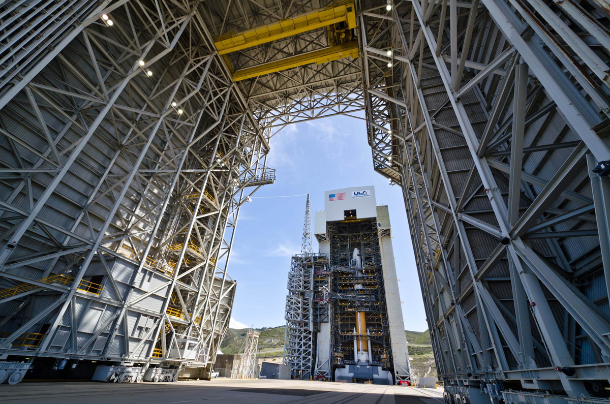 Delta 4 Rocket with NROL-25 Satellite at Space Launch Complex-6