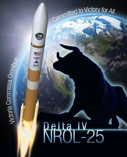 NROL-25 Spysat Launch Poster