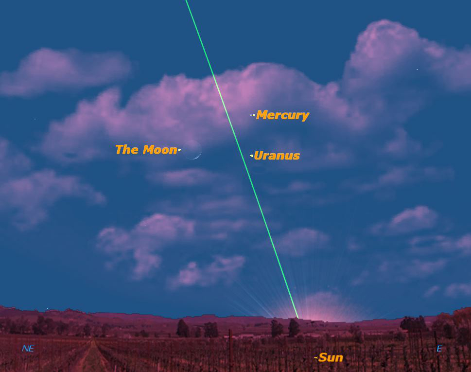 How to See Elusive Planet Mercury in the Morning Sky