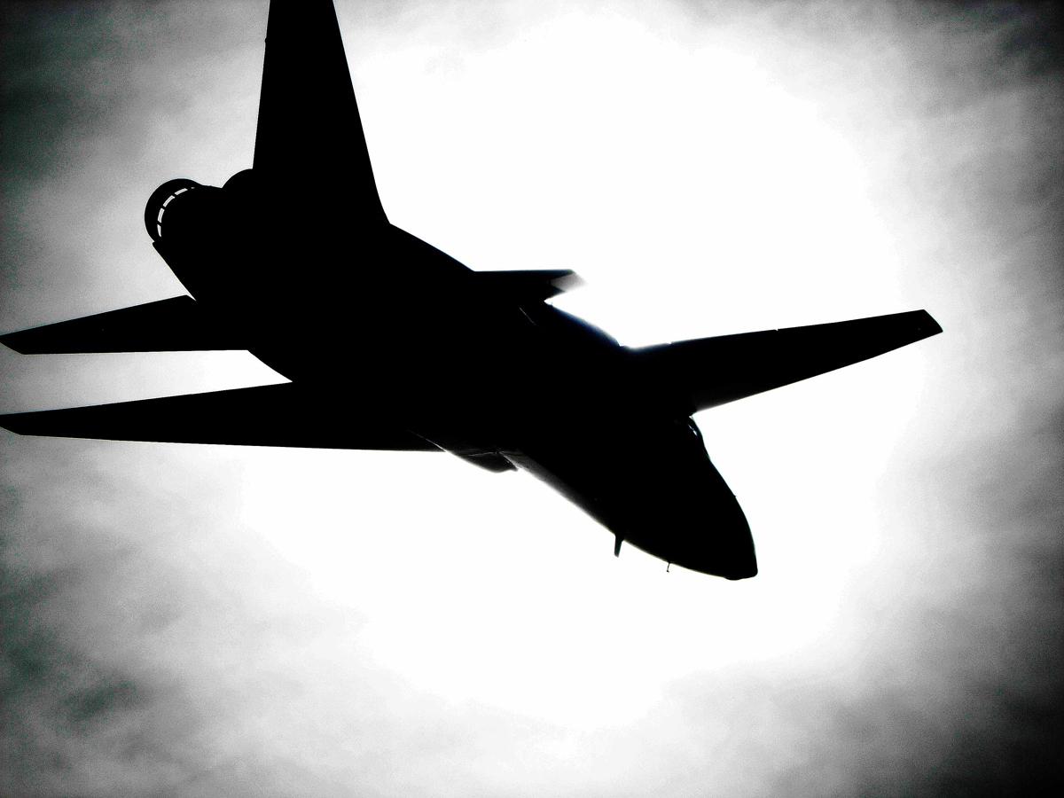T-38 Jet Silhouette