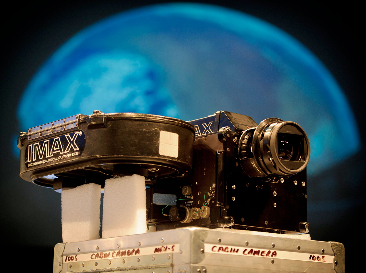 IMAX Space Cameras Donated to Smithsonian