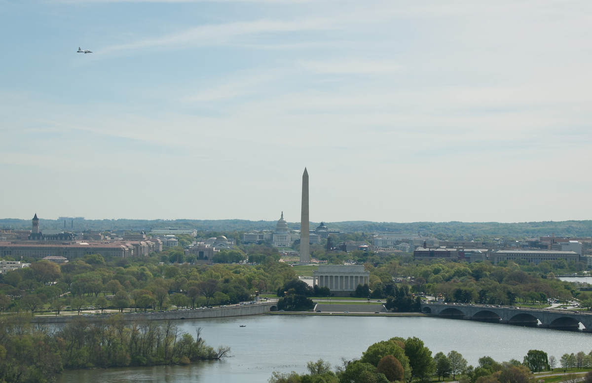 T-38 Flyover, National Mall