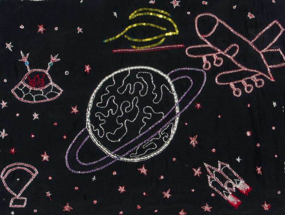 Space A-Glitter