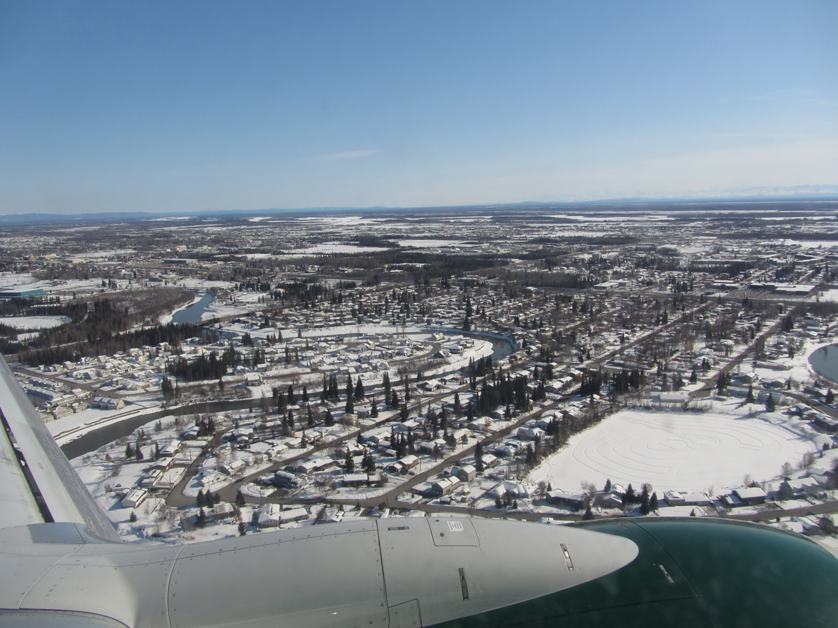 Fairbanks from Above