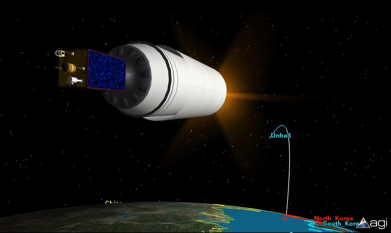 North Korea Rocket Launch: Video Animation
