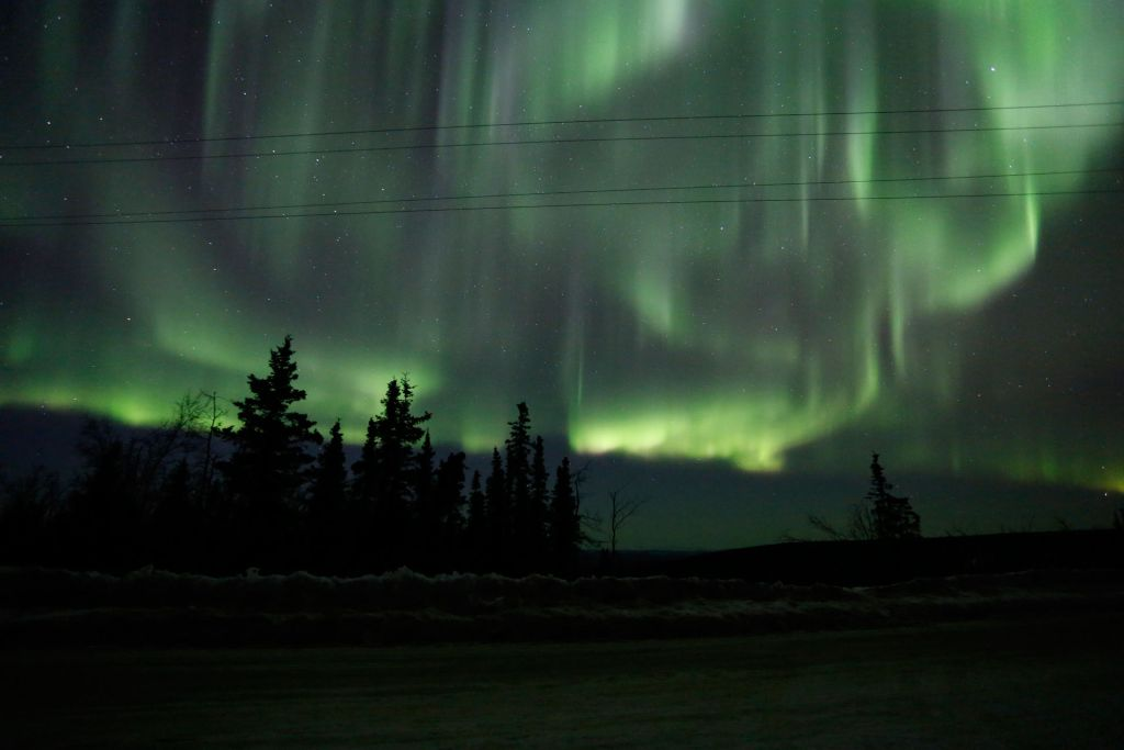 Northern Lights Over Alaska: Project Aether