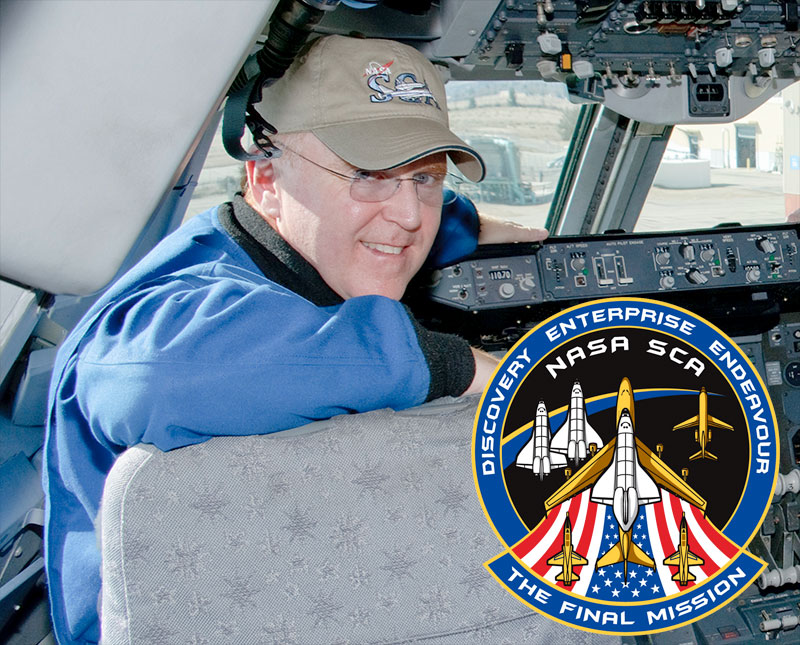 Shuttle Museum Delivery Mission Patch