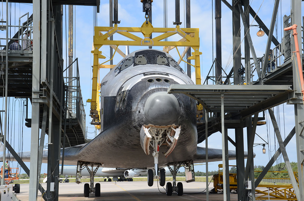 Shuttle Discovery Set for Smithsonian Trip