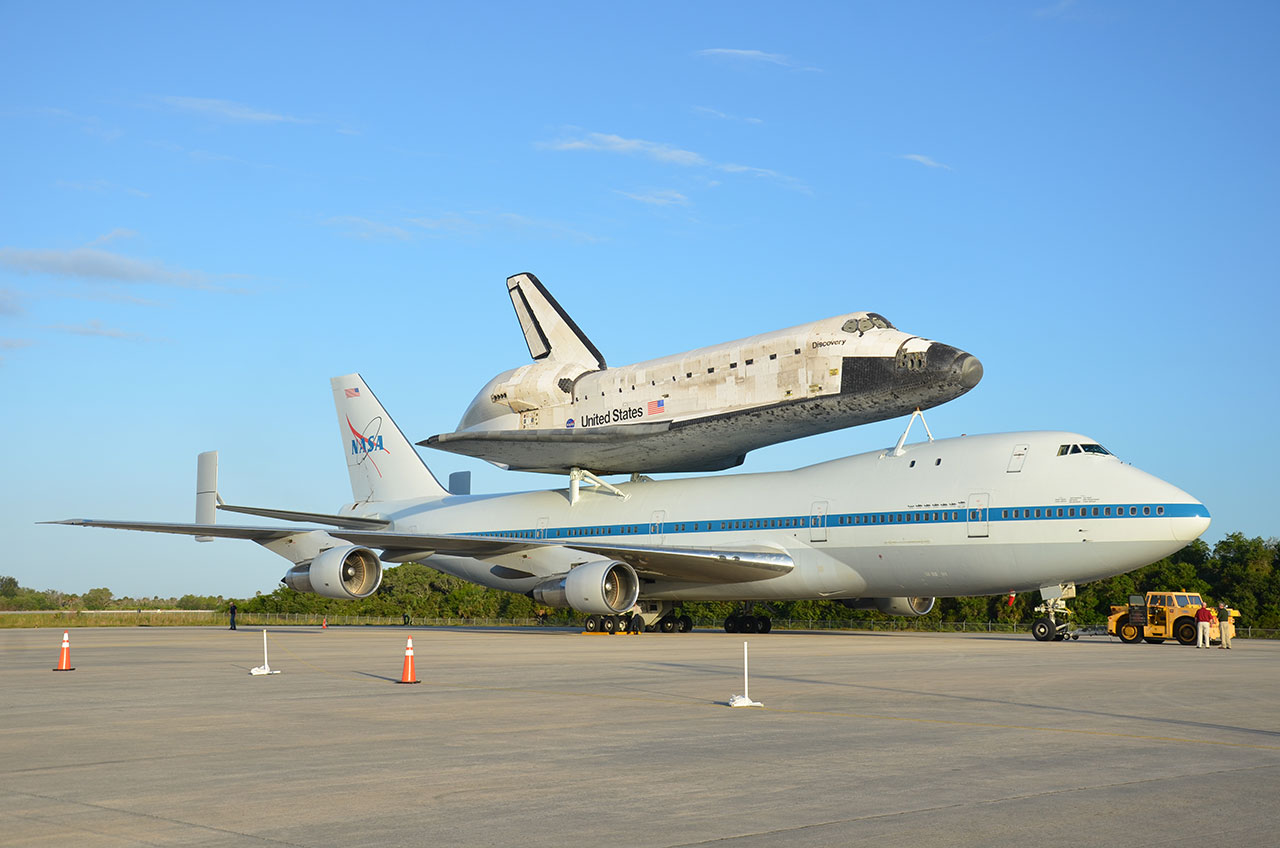 Space Shuttle Discovery Takes Final Flight This Week ... to Smithsonian