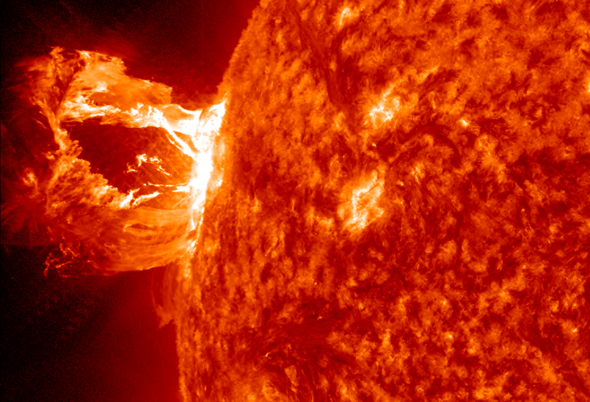 Hi-Def Coronal Mass Ejection