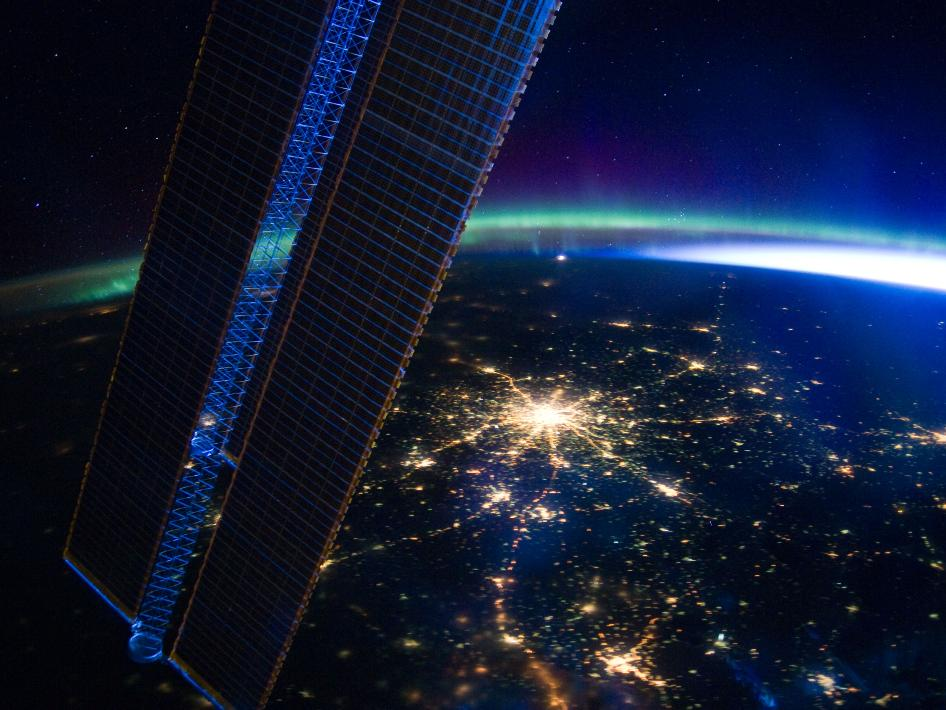Lights at Night: Moscow from Space