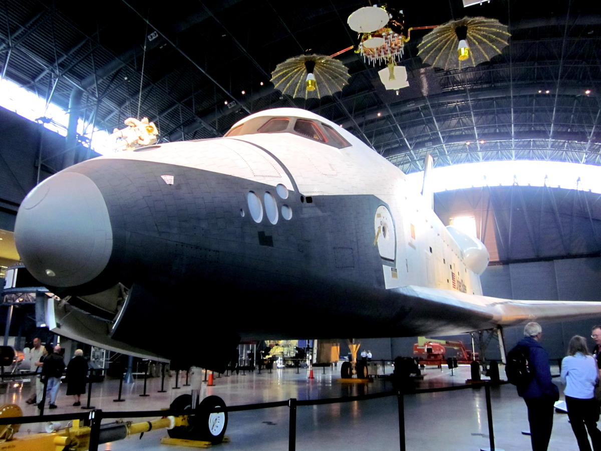 Space Shuttle Enterprise's Last Day at the Smithsonian