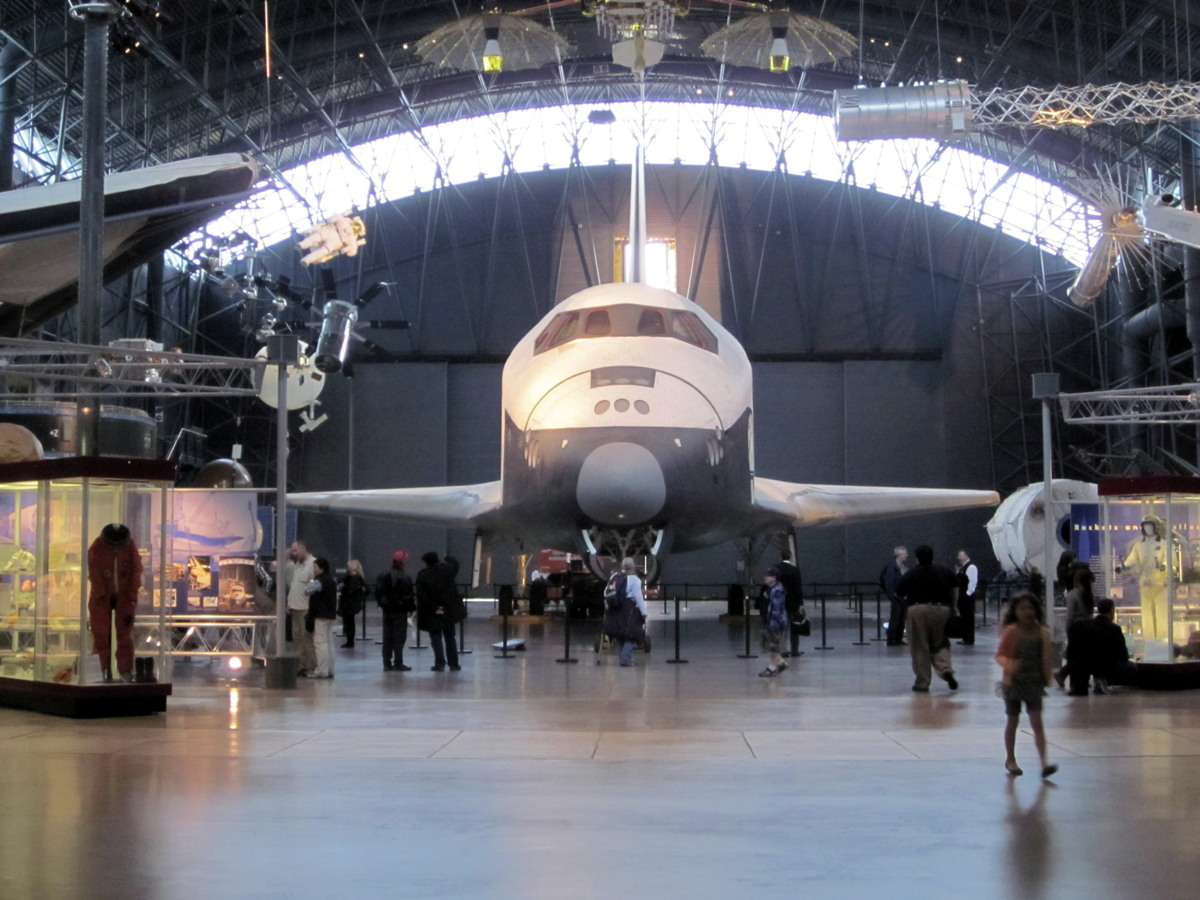 Space Shuttle Enterprise's Enterprise's Last Day at the Smithsonian #2