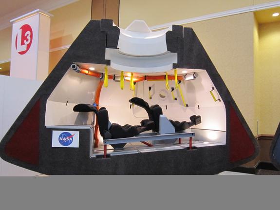 next manned spacecraft interior - photo #14