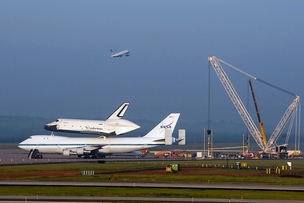 Space Shuttle Enterprise's NYC Delivery Delayed By Weather Concerns