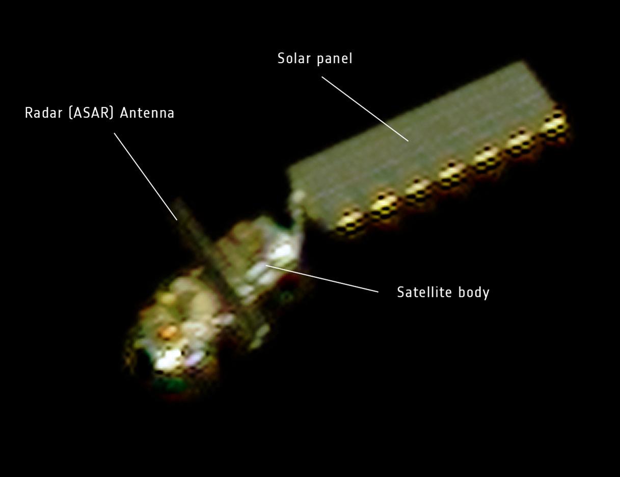 Huge Satellite Envisat is Dead in Space