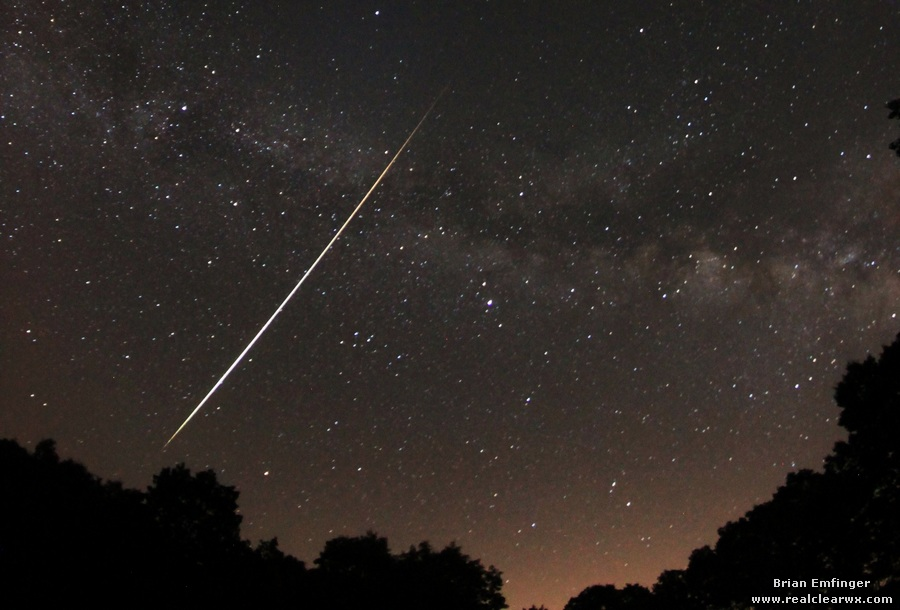 Lyrid Meteor Shower 2012: Brian Emfinger