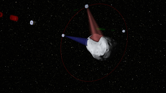 Planetary Resources, Inc. plans to send robotic probes out to prospect near-Earth asteroids, gauging their potential stores of water and platinum-group metals.