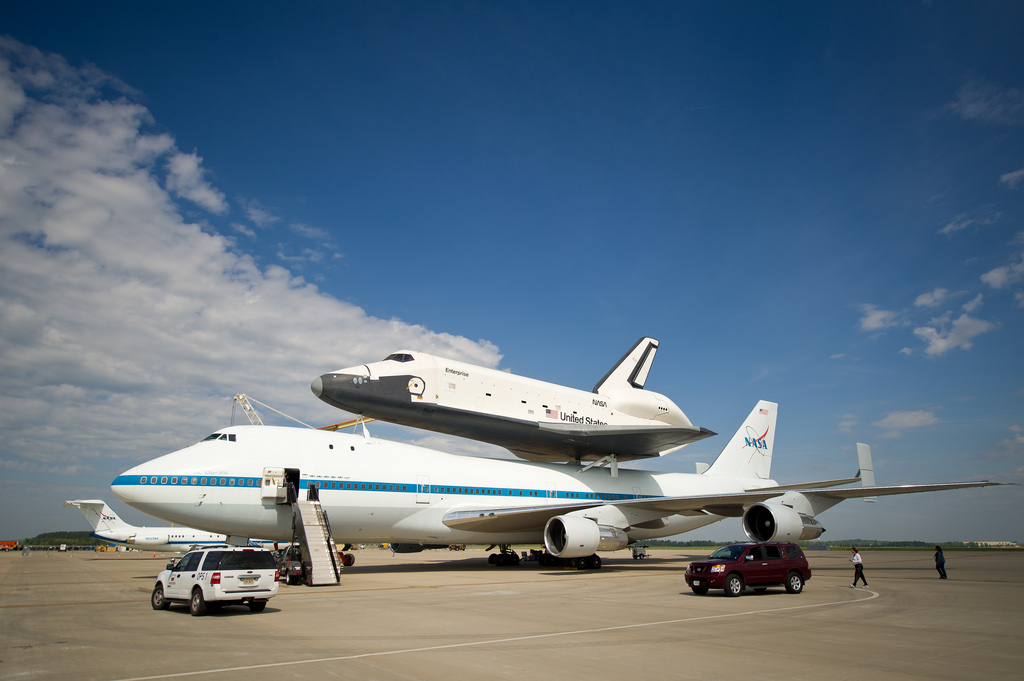 Space Shuttle & Skycrapers: How to See NASA's Enterprise Fly Over NYC