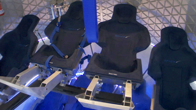 Dragon Capsule Crew Seats