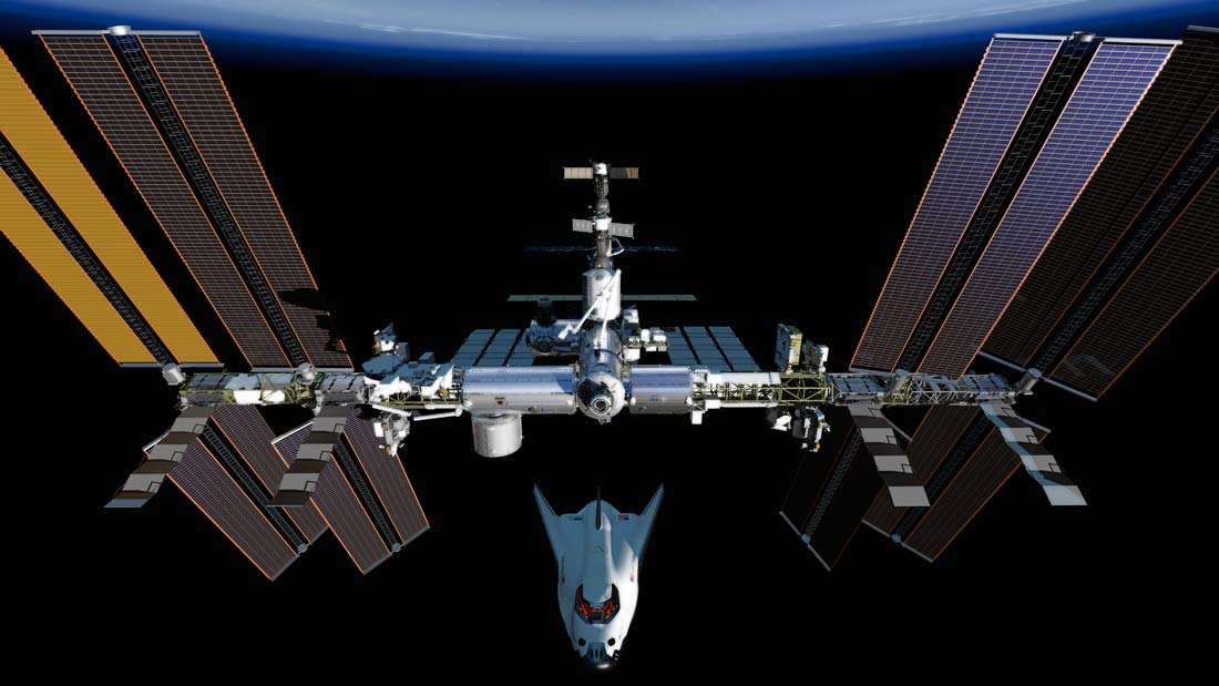 Dream Chaser Docks with the International Space Station