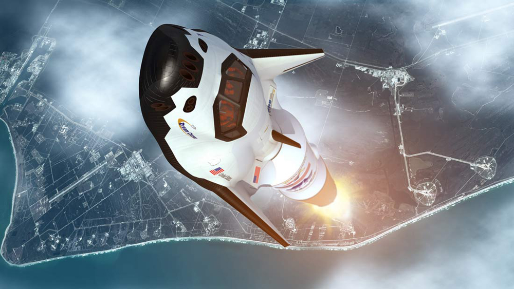 Dream Chaser Launch Ascent