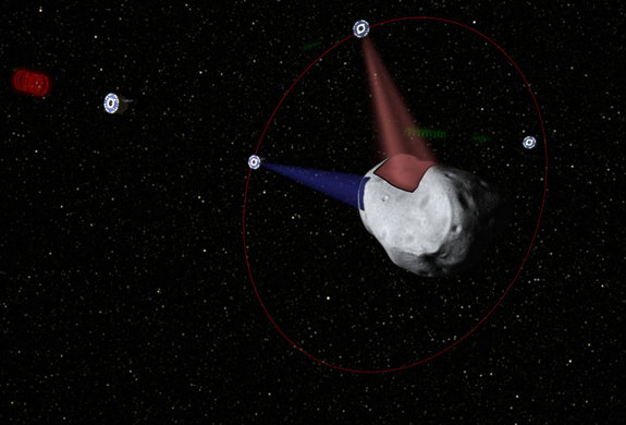 Planetary Resources plans to develop prospector probes, which will determine the composition of asteroids before they are mined.