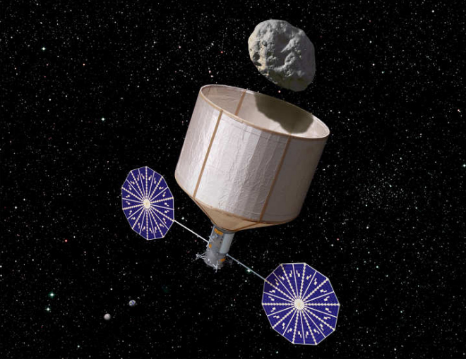 Is NASA Seeking $100 Million for Wild Asteroid Capture Mission?