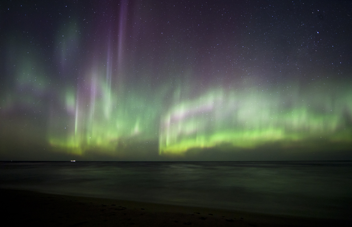 April 2012 Aurora over Lake Superior #5