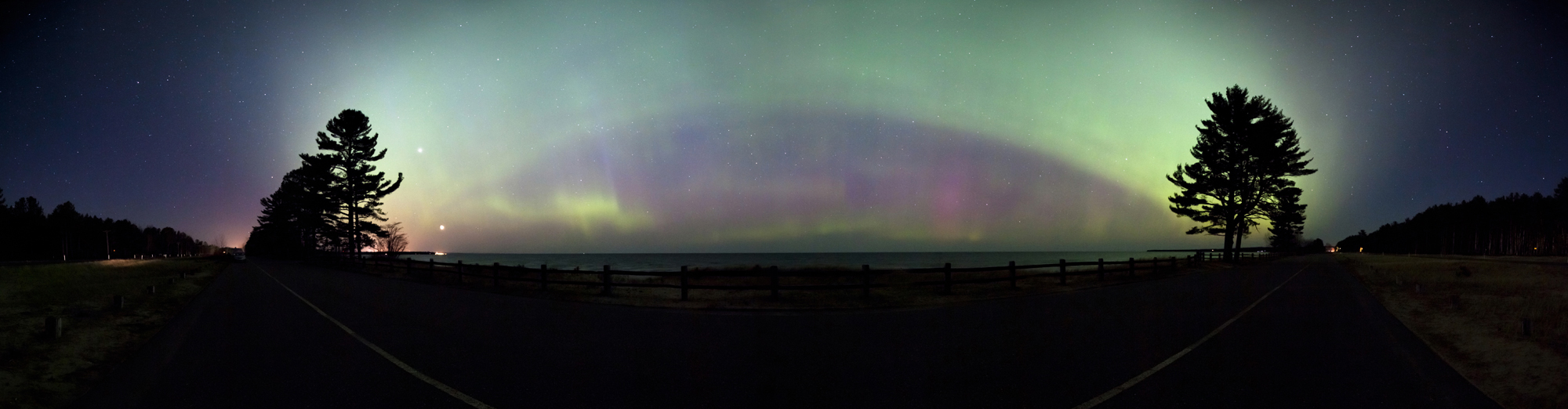 April 2012 Aurora over Lake Superior #6