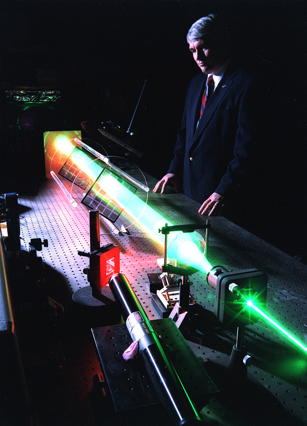 Space History Photo: Fourier Telescope