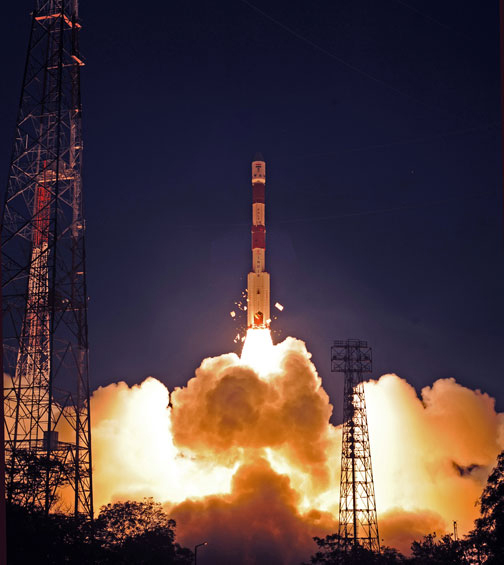 India Launches Surveillance Satellite in 'Grand Success'