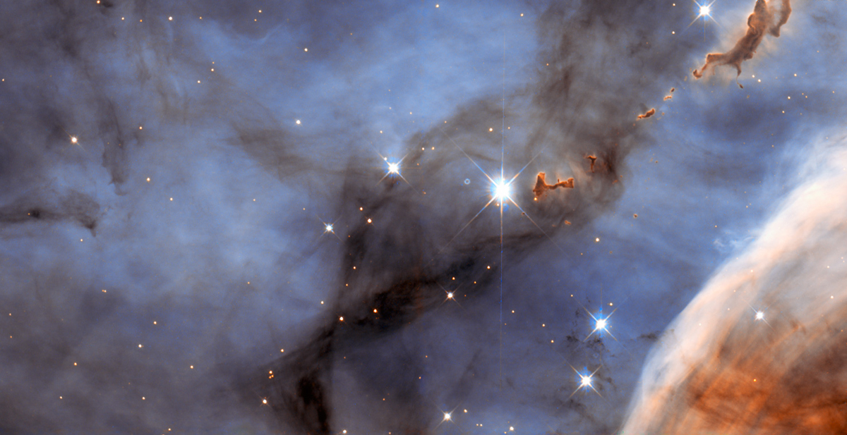 Evaporating Blobs in Carina Nebula