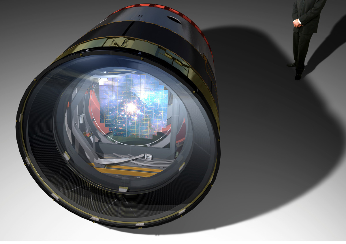 3.2 Billion-Pixel Camera Telescope Gets Critical Go-Ahead