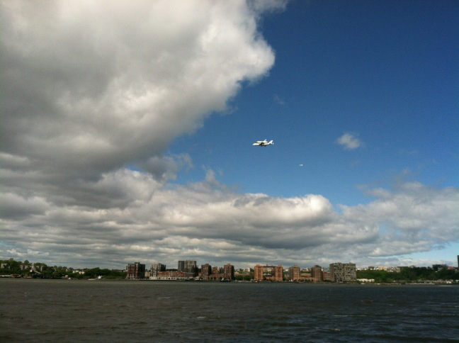 Shuttle Enterprise from Chelsea Piers