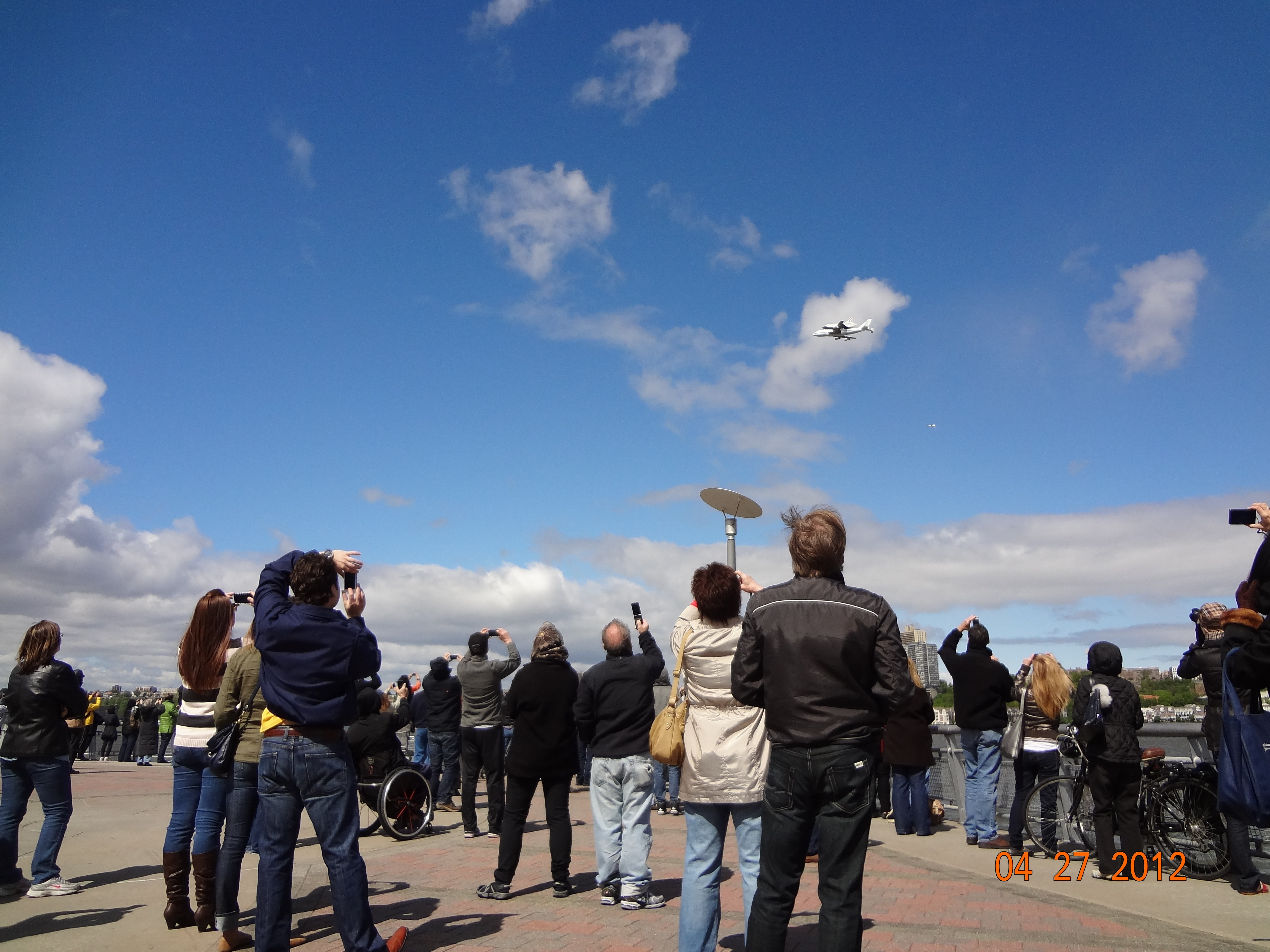 Space Shuttle Enterprise's Historic Flyover Wows New Yorkers