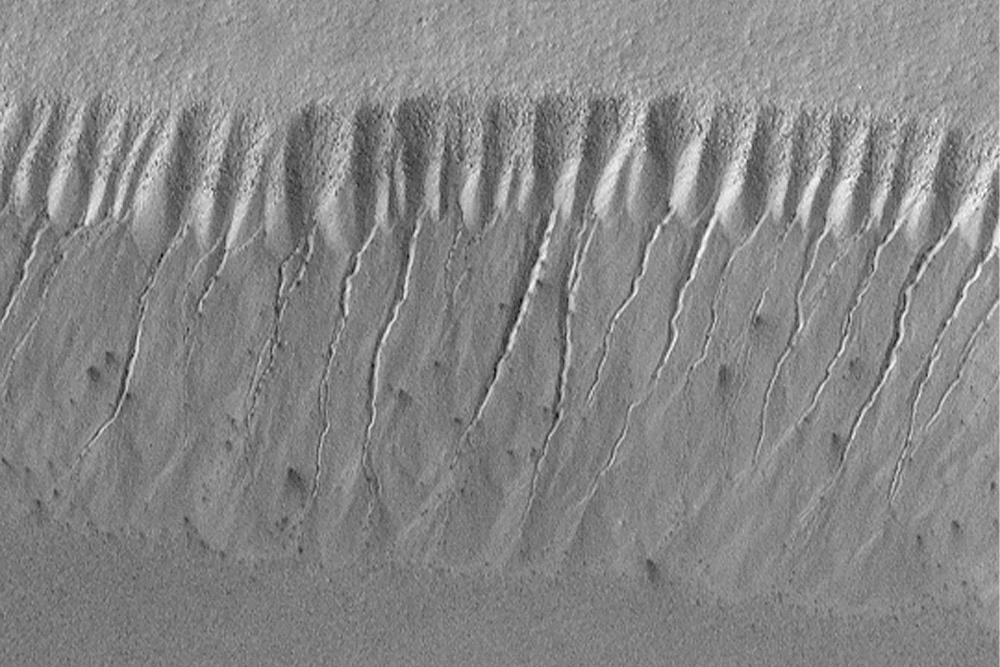 liquid, mars, water, gullies