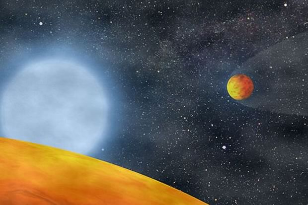 Giant Alien Planet May Have Split into 2 Earth-Size Worlds