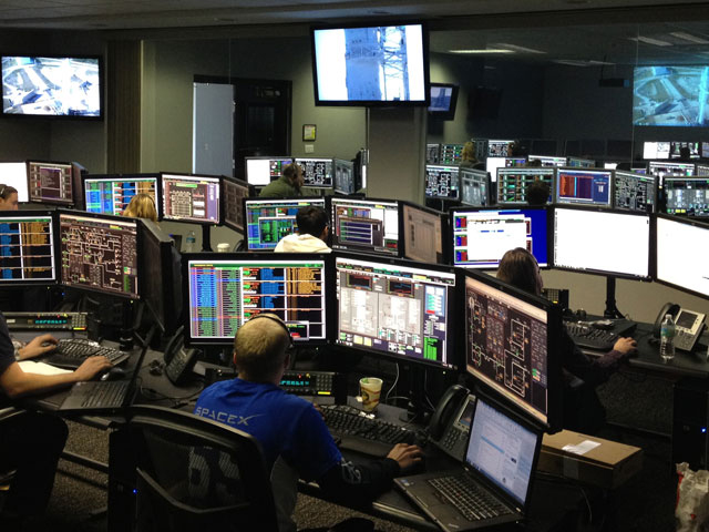 SpaceX's Launch Control Center