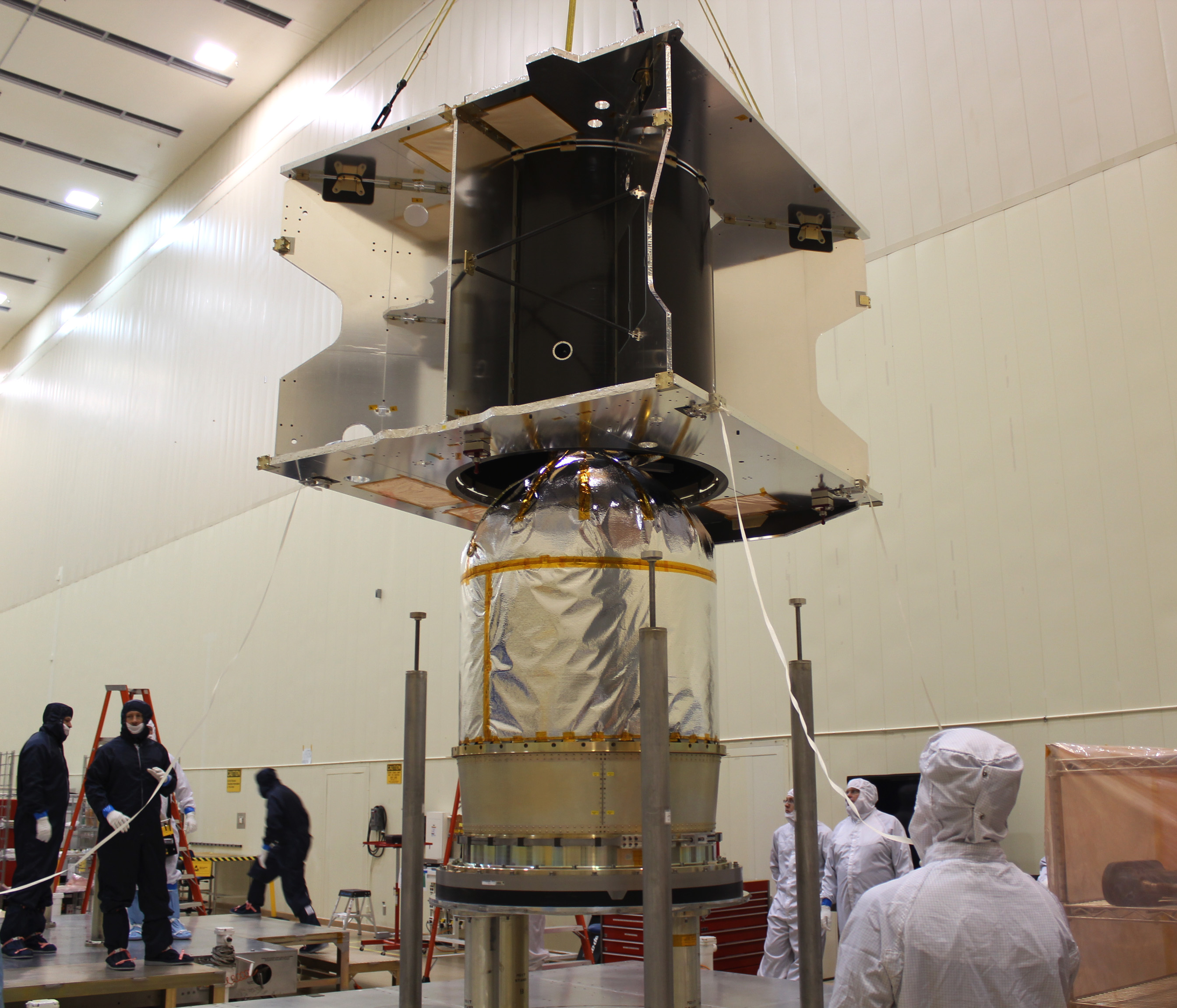 Mars MAVEN Spacecraft Construction