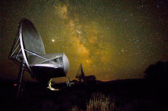 Antennas of the Allen Telescope Array have been used to study signals from remote galaxies, supernova remnants, extrasolar planetary systems, and the interstellar medium. Each antenna is about 20 feet wide. A new contracted job is to assist the U.S. Air Force in situational awareness and detect space debris.